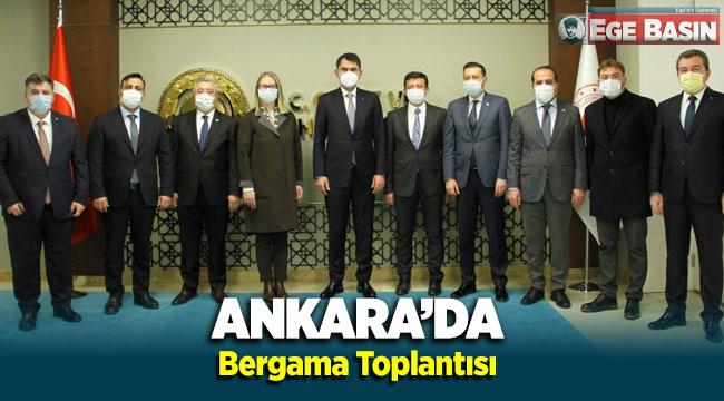 Ankara'da 'Bergama' toplantısı