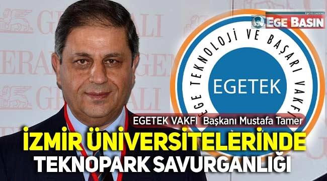 EGETEK Vakfı'ndan İzmir Üniversitelerine savurganlık yapılıyor iddiası