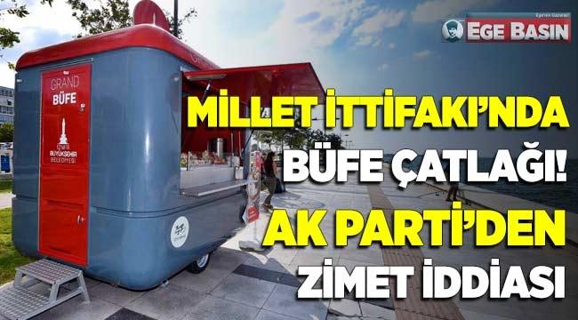 İzmir'de Millet İttifakı'nda 'büfe' çatlağı... AK Parti'den 'zimmet' iddiası