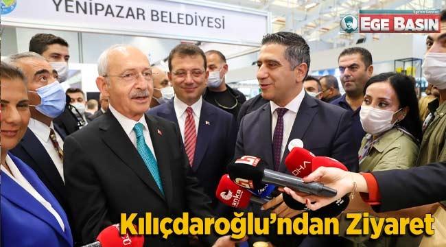 Tarım Zirvesi'nde Kılıçdaroğlu'ndan Menderes Standına Ziyaret
