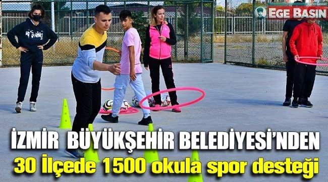 Büyükşehir'Den 30 İlçede Bin 500 Okula Spor Desteği