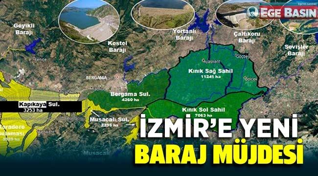 İzmir'in yeni Barajı İçin İmzalar Atıldı